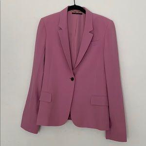 Gucci Runway Pink Blazer Silk Blend